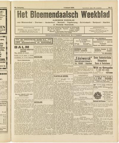 Het Bloemendaalsch Weekblad 1934