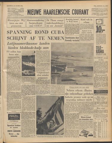 Nieuwe Haarlemsche Courant 1962-10-25
