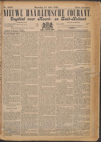 Nieuwe Haarlemsche Courant 1898-07-11