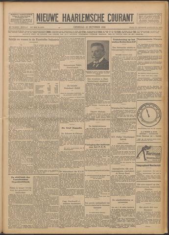 Nieuwe Haarlemsche Courant 1928-10-23