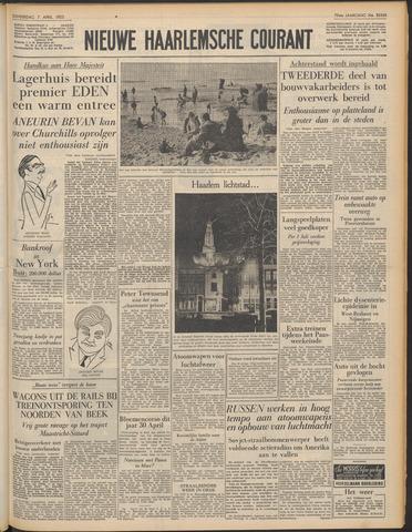 Nieuwe Haarlemsche Courant 1955-04-07