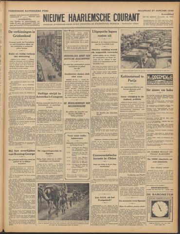Nieuwe Haarlemsche Courant 1936-01-27
