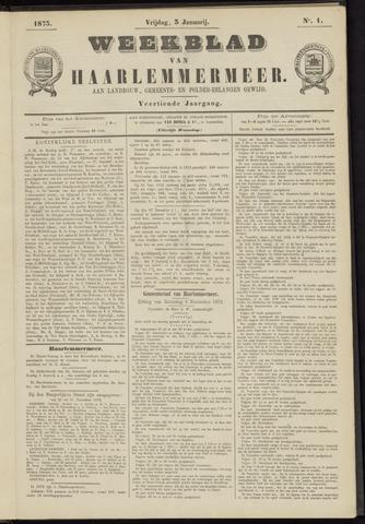 Weekblad van Haarlemmermeer 1873-01-03