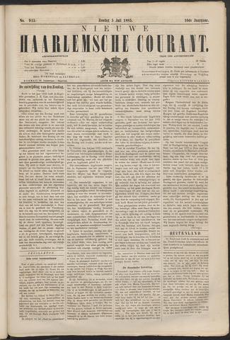 Nieuwe Haarlemsche Courant 1885-07-05