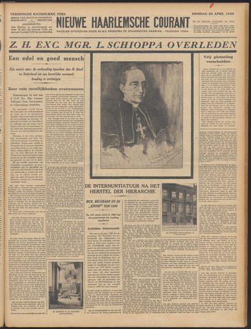 Nieuwe Haarlemsche Courant 1935-04-23