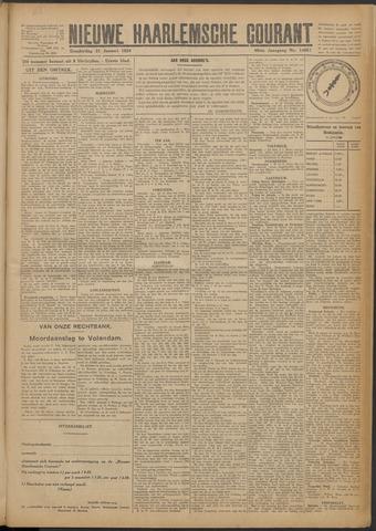 Nieuwe Haarlemsche Courant 1924-01-31