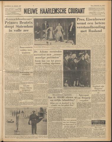 Nieuwe Haarlemsche Courant 1957-01-24