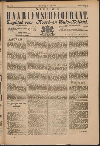 Nieuwe Haarlemsche Courant 1902-07-31