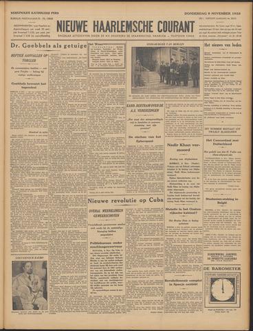 Nieuwe Haarlemsche Courant 1933-11-09