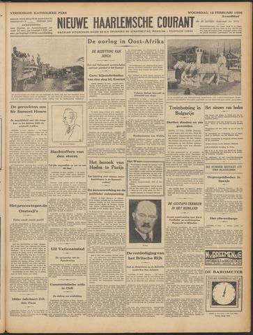 Nieuwe Haarlemsche Courant 1936-02-12