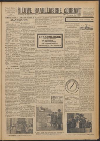 Nieuwe Haarlemsche Courant 1923-12-10