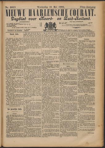 Nieuwe Haarlemsche Courant 1905-05-31
