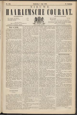 Nieuwe Haarlemsche Courant 1883-06-07