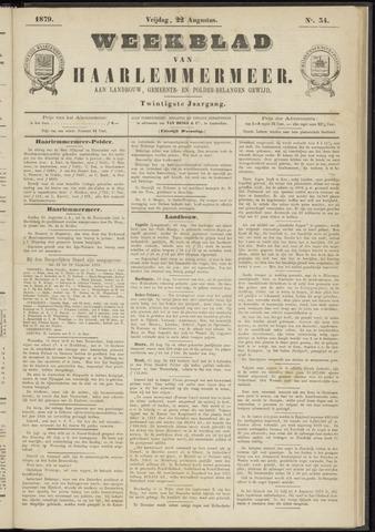 Weekblad van Haarlemmermeer 1879-08-22