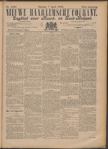 Nieuwe Haarlemsche Courant 1903-04-07