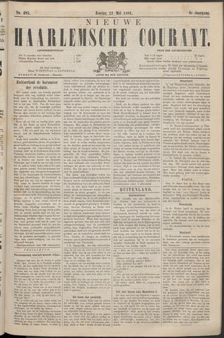 Nieuwe Haarlemsche Courant 1881-05-22