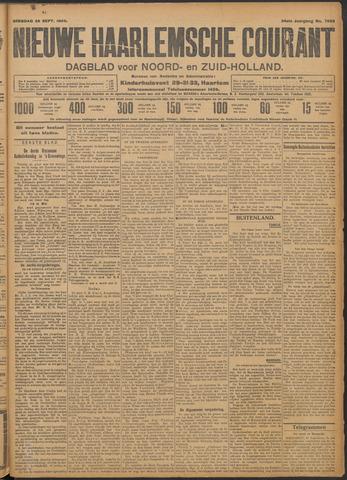 Nieuwe Haarlemsche Courant 1909-09-28