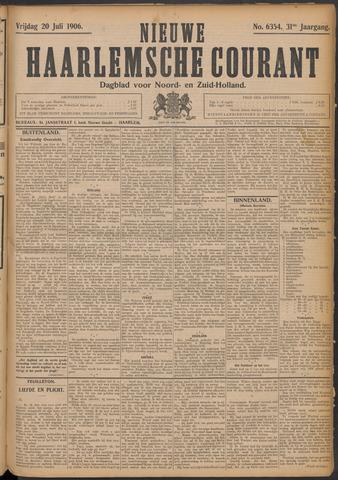 Nieuwe Haarlemsche Courant 1906-07-20