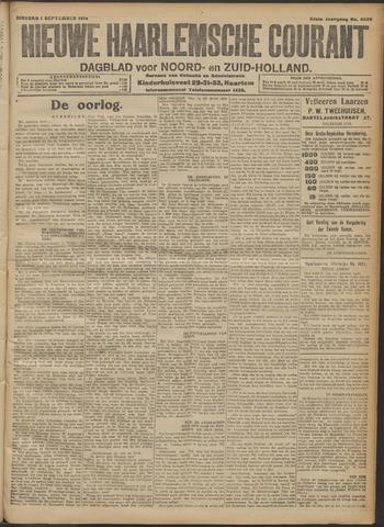 Nieuwe Haarlemsche Courant 1914-09-01