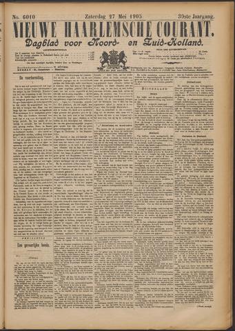 Nieuwe Haarlemsche Courant 1905-05-27