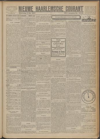 Nieuwe Haarlemsche Courant 1923-05-09