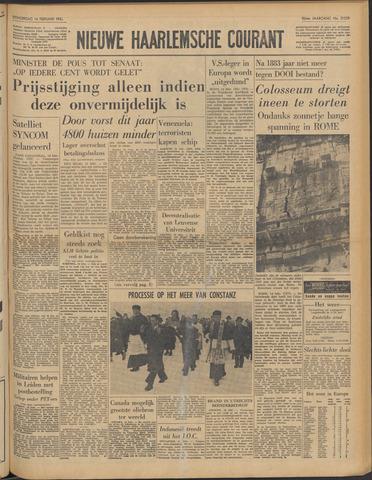 Nieuwe Haarlemsche Courant 1963-02-14