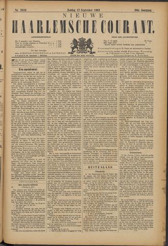 Nieuwe Haarlemsche Courant 1893-09-17