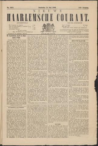 Nieuwe Haarlemsche Courant 1886-06-24