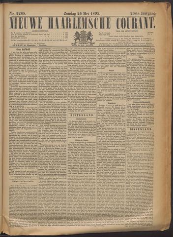 Nieuwe Haarlemsche Courant 1895-05-26