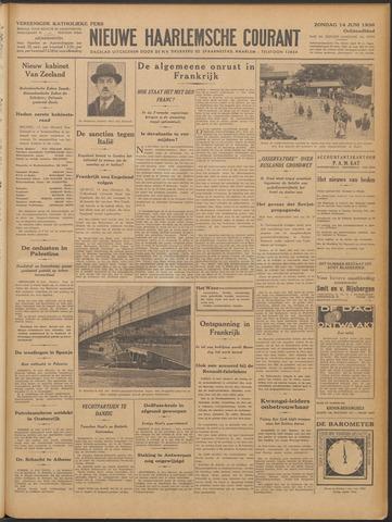 Nieuwe Haarlemsche Courant 1936-06-14