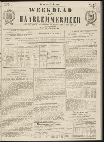 Weekblad van Haarlemmermeer 1864-04-01