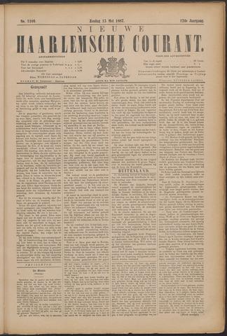 Nieuwe Haarlemsche Courant 1887-05-15