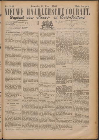 Nieuwe Haarlemsche Courant 1905-03-18