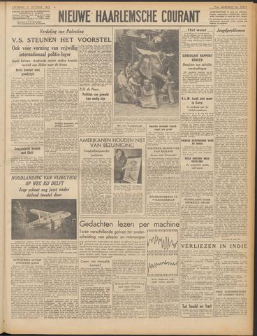 Nieuwe Haarlemsche Courant 1947-10-11