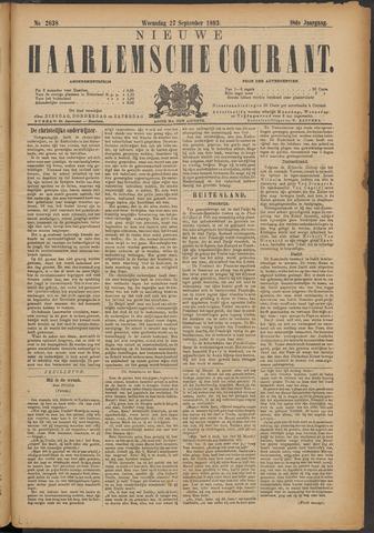 Nieuwe Haarlemsche Courant 1893-09-27