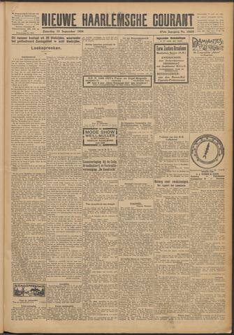 Nieuwe Haarlemsche Courant 1924-09-13