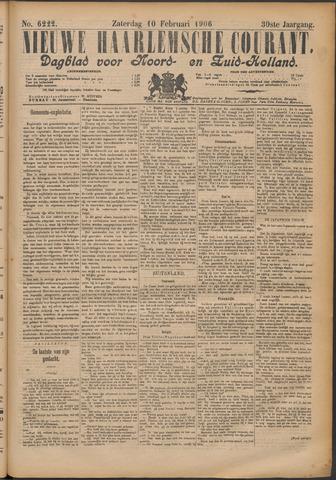 Nieuwe Haarlemsche Courant 1906-02-10