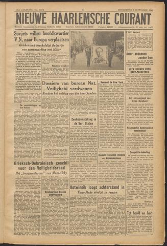 Nieuwe Haarlemsche Courant 1946-09-05