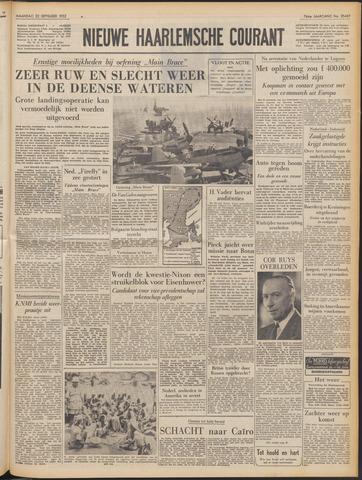 Nieuwe Haarlemsche Courant 1952-09-22