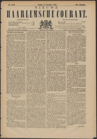 Nieuwe Haarlemsche Courant 1894-09-14