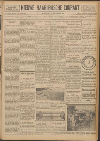 Nieuwe Haarlemsche Courant 1928-09-19
