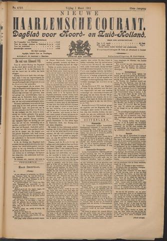 Nieuwe Haarlemsche Courant 1901-03-01