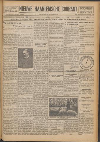 Nieuwe Haarlemsche Courant 1930-01-21