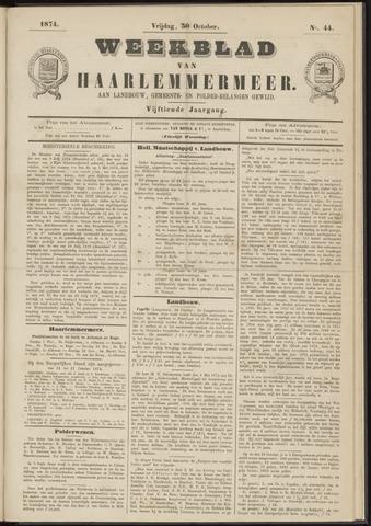 Weekblad van Haarlemmermeer 1874-10-30