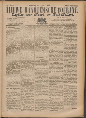 Nieuwe Haarlemsche Courant 1903-04-27