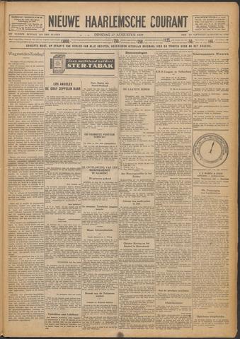 Nieuwe Haarlemsche Courant 1929-08-27