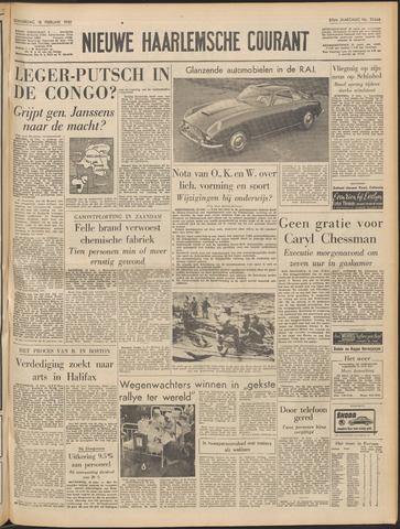Nieuwe Haarlemsche Courant 1960-02-18