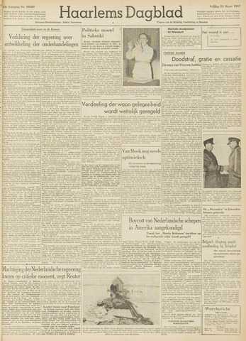 Haarlem's Dagblad 1947-03-21