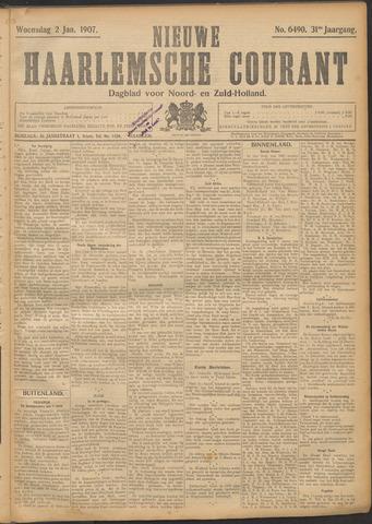 Nieuwe Haarlemsche Courant 1907