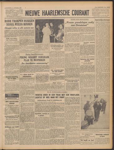 Nieuwe Haarlemsche Courant 1951-01-04
